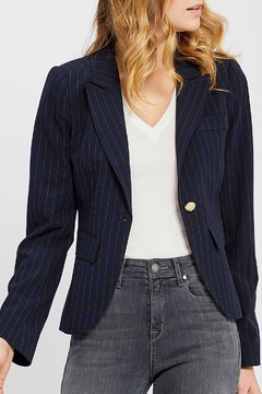 Shoptiques Product: Fitted Striped Blazer