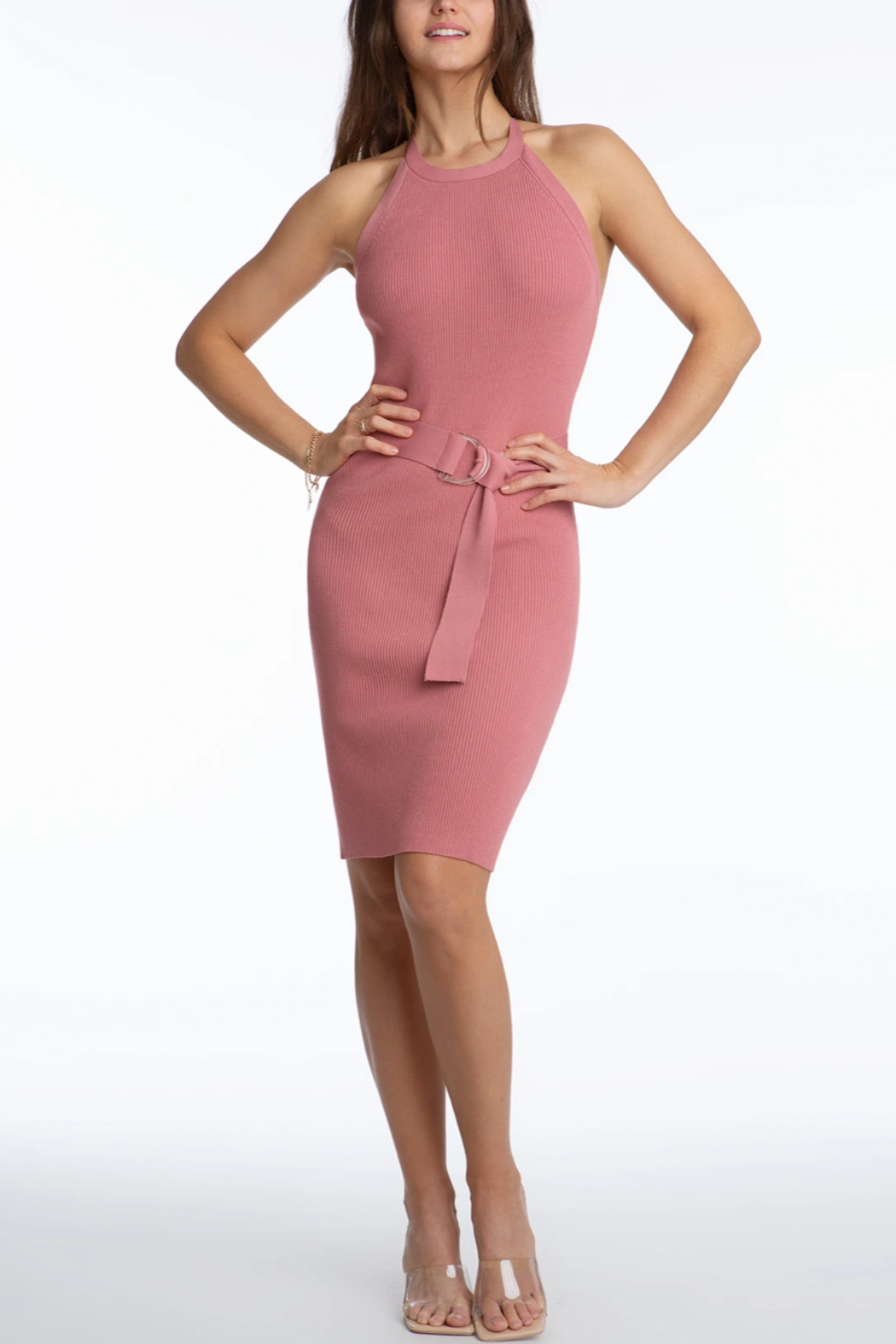 525 America Fitted Tank Dress - Main Image