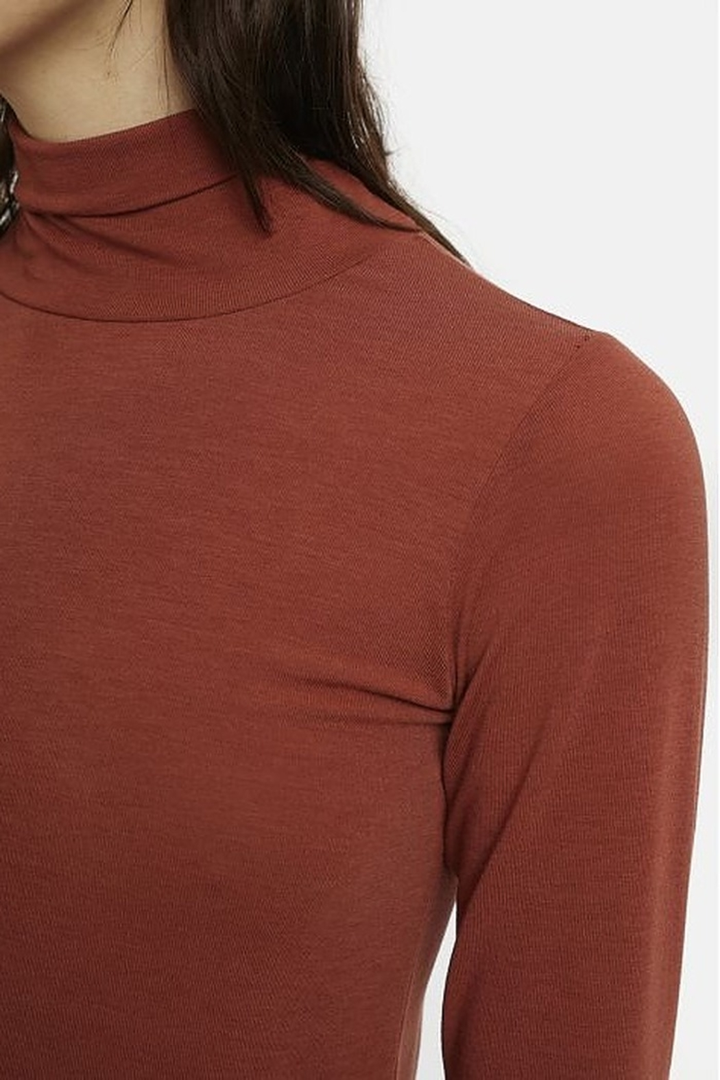 Compania Fantastica Fitted Turtle Neck - Side Cropped Image
