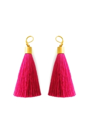 Malia Jewelry Fiuscha Tassel Earrings - Product Mini Image