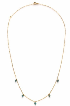 Amano Trading, Inc. Five Graces necklace gold - Alternate List Image