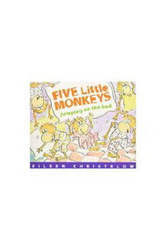 Houghton Mifflin Harcourt  Five Little Monkeys Jumping On The Bed - Alternate List Image