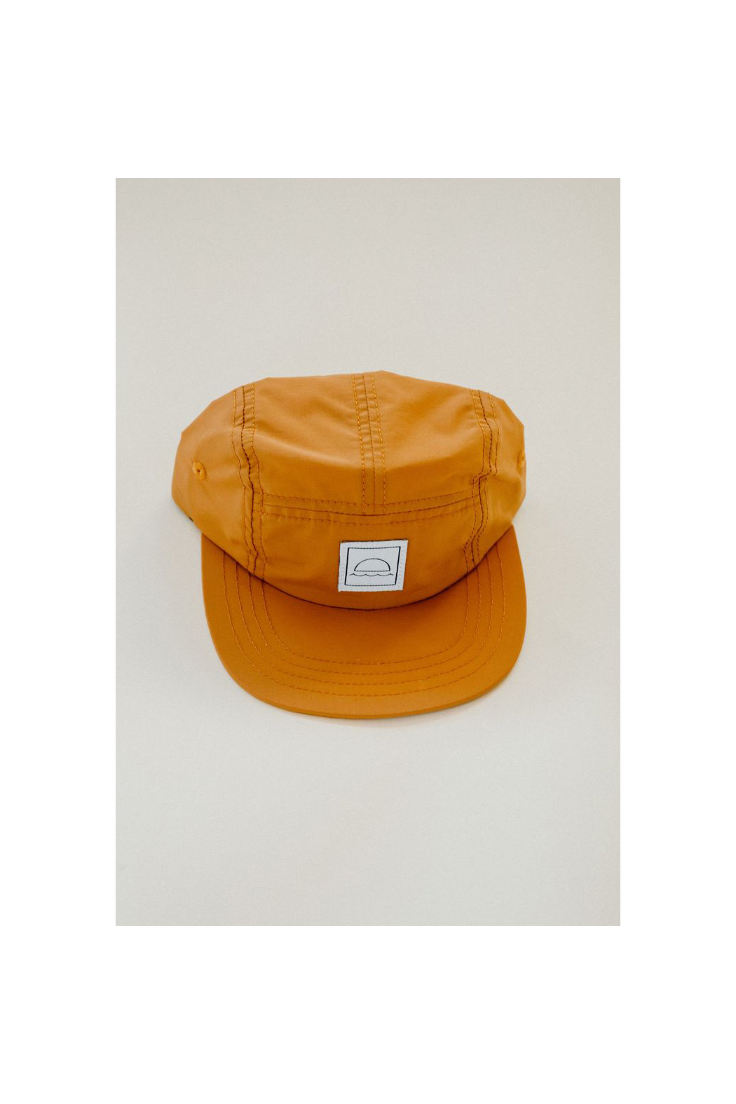 Hey August Five Panel Cap - Front Cropped Image