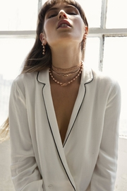 Five and Two Charlotte Choker Necklace - Side cropped