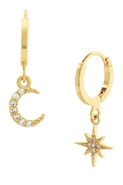 Five and Two Chloe Earrings - Front cropped