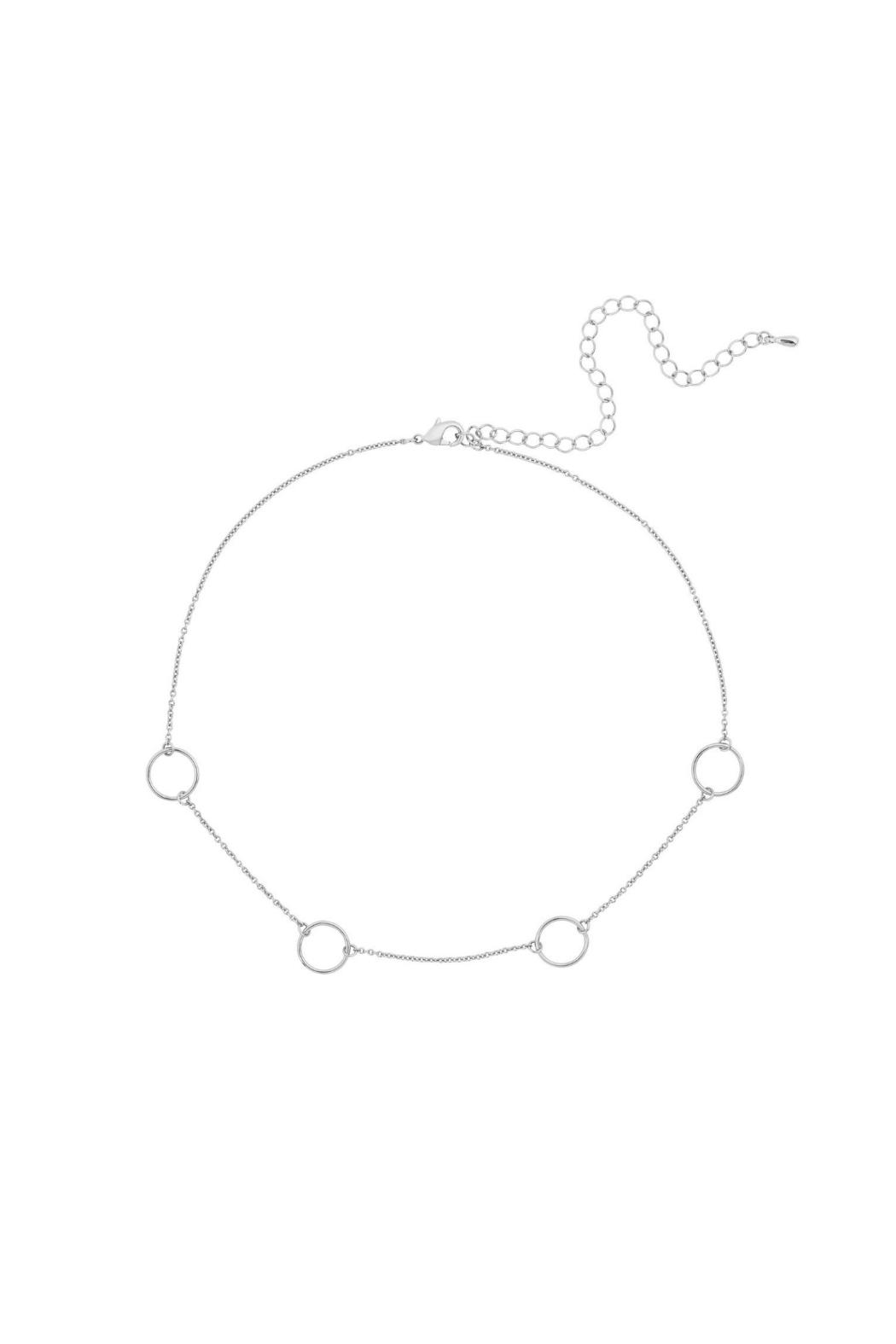 Five and Two Max Circle Choker - Front Cropped Image