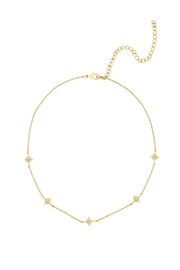 Five and Two Mona Star Choker Necklace - Front cropped