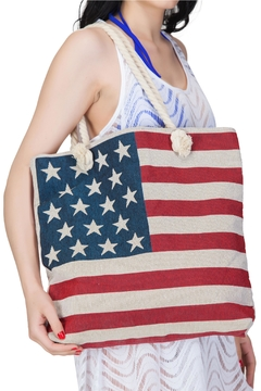 India Boutique Flag Beach Tote - Alternate List Image