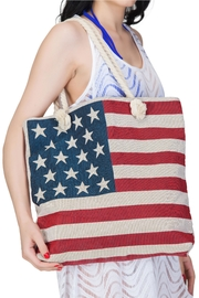 India Boutique Flag Beach Tote - Product Mini Image