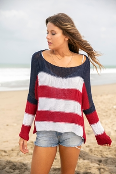 Wooden Ships Flag Sweater - Product List Image