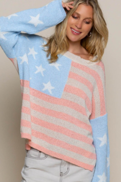 POL  Flag Sweater Top - Product List Image