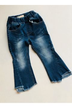 Maeli Rose Flair Crop Jeans - Product List Image
