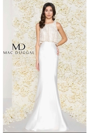 CREATIVE IMPORTS/ MAC DUGGAL FLAIR TOP GOWN - Product Mini Image