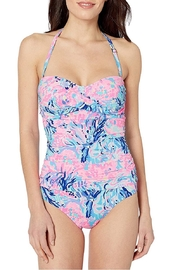 Lilly Pulitzer  Flamenco Convertible Swimsuit - Product Mini Image