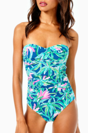 Lilly Pulitzer  Flamenco Swimsuit - Front cropped