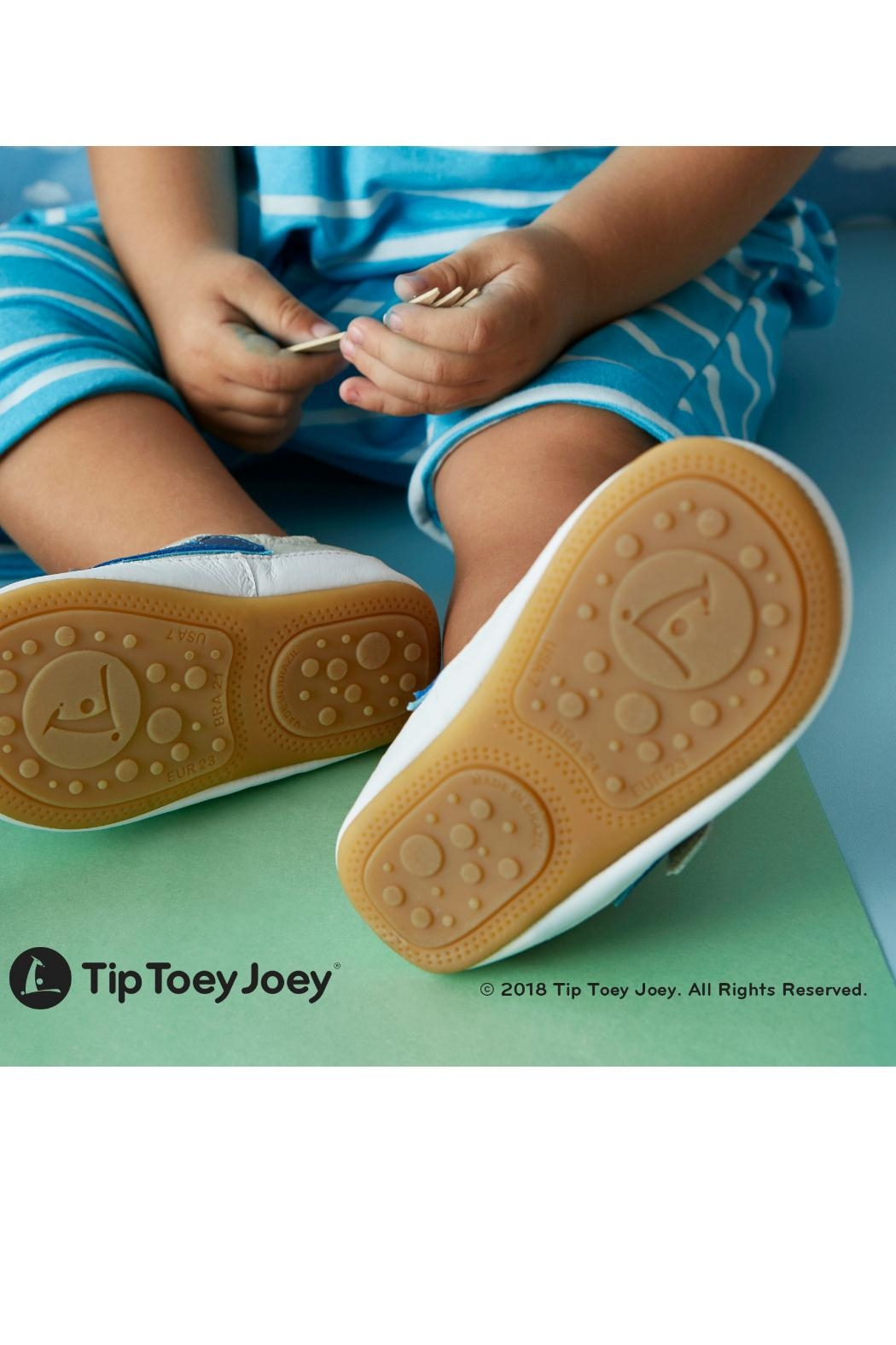 Tip Toey Joey Flamenky Pink Shoes - Front Full Image