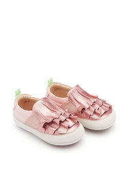 Tip Toey Joey Flamenky Pink Shoes - Front cropped