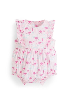 Shoptiques Product: Flamingo Bubble Romper