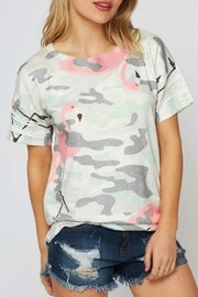 B-Tween Flamingo Camo Top - Product Mini Image