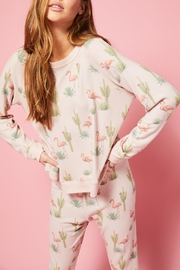 All Things Fabulous Flamingo Cozy Jumper - Product Mini Image