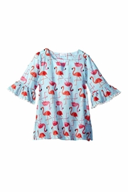 Mud Pie Flamingo Dress Coverup - Front cropped