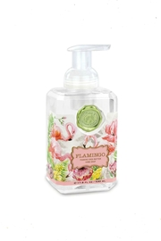 Michel Design Works Flamingo Foaming Soap - Front cropped