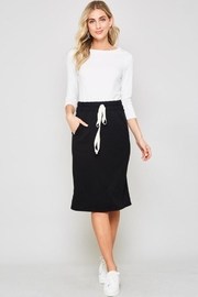 Flamingo French Terry Skirt - Front cropped