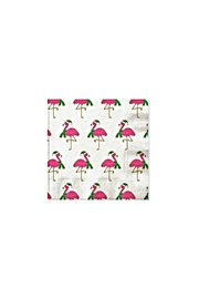 Slant Collections Flamingo Holiday Napkins - Front cropped