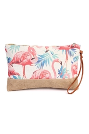 Riah Fashion Flamingo Mini Bag - Product Mini Image