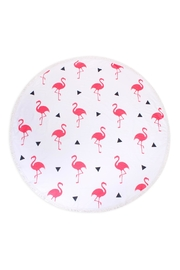 Riah Fashion Flamingo Pattern Towel - Product Mini Image