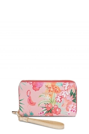 Spartina 449 Flamingo Retreat Wristlet - Product Mini Image