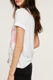 Sol Angeles Flamingo Rolled Crew - Front full body
