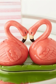 Two's Company Flamingo Salt & Pepper - Front cropped