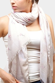 Embellish Flamingo Scarf - Product Mini Image