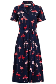 Sugarhill Boutique Flamingo Shirt Dress - Product Mini Image