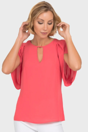 Joseph Ribkoff Flamingo Top - Product Mini Image