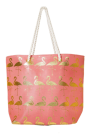 Area Stars Flamingo Tote Bag - Front cropped
