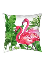Sally Eckman Roberts Flamingo Tropics Pillow - Product Mini Image