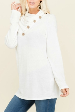 Shoptiques Product: Marcy Ivory Sweater