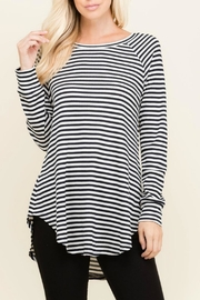 Flamingo Urban Sadie Striped Longsleeve - Product Mini Image