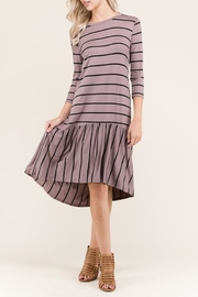 Flamingo Urban Stripe Dress - Product Mini Image