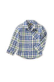 Tea Collection Flannel Baby Shirt - Product Mini Image