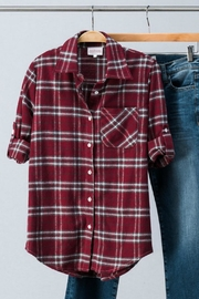 Trend:notes Flannel Button Down - Product Mini Image
