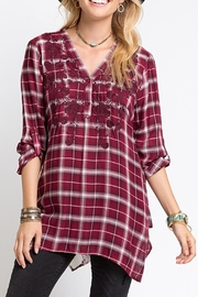Andree by Unit Flannel Button-Down Shirt - Product Mini Image