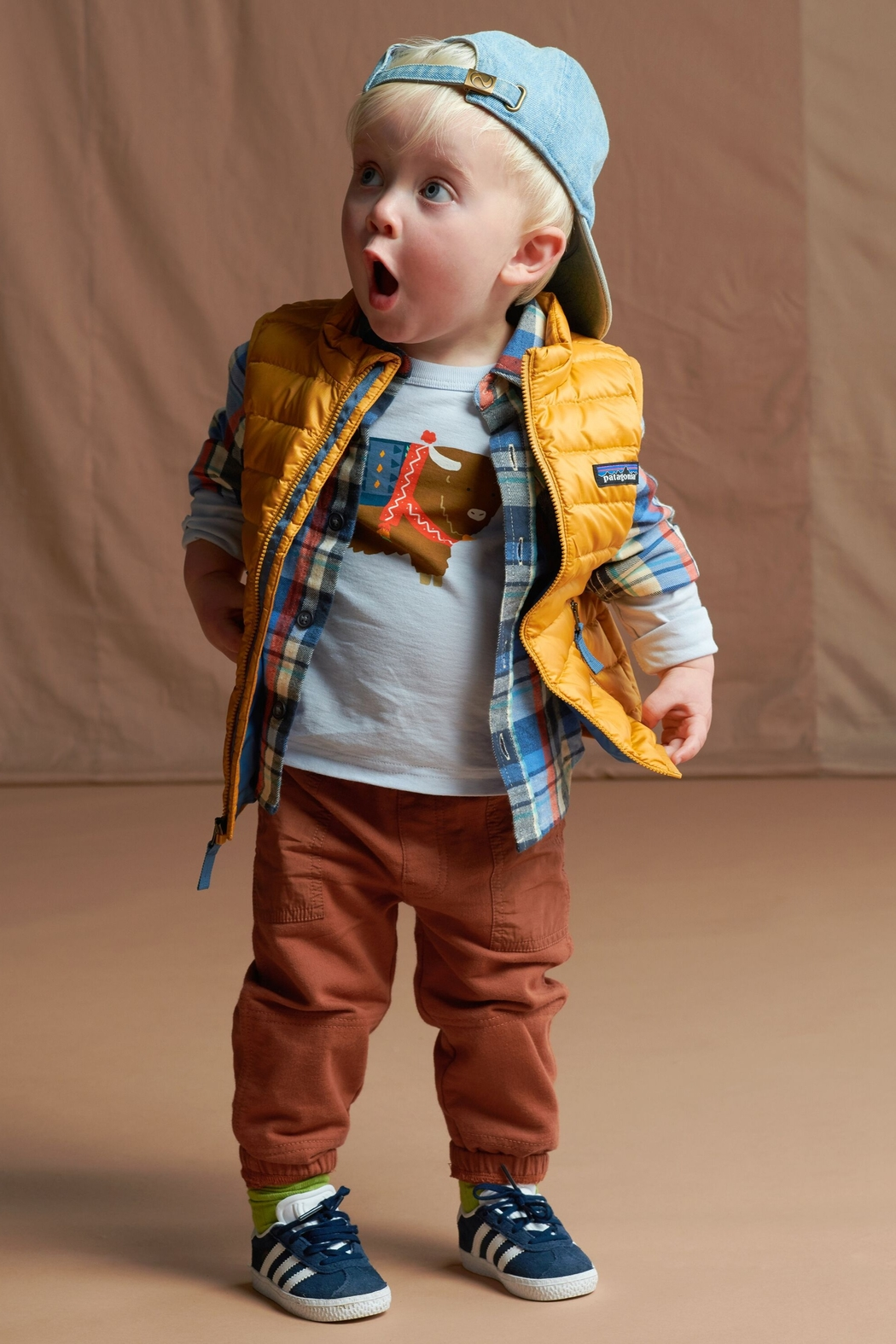 Tea Collection Flannel Plaid Baby Shirt - Side Cropped Image