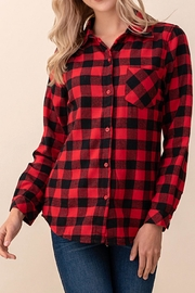 Ashley's Clothing Design Flannel Plaid Shirt - Product Mini Image