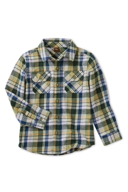 Tea Collection Flannel Plaid Shirt - Product Mini Image