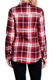 BlueAge Jeans Flannel Plaid Shirt - Product Mini Image