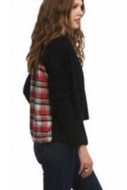 AnM Flannel Sweater Cardigan - Front full body