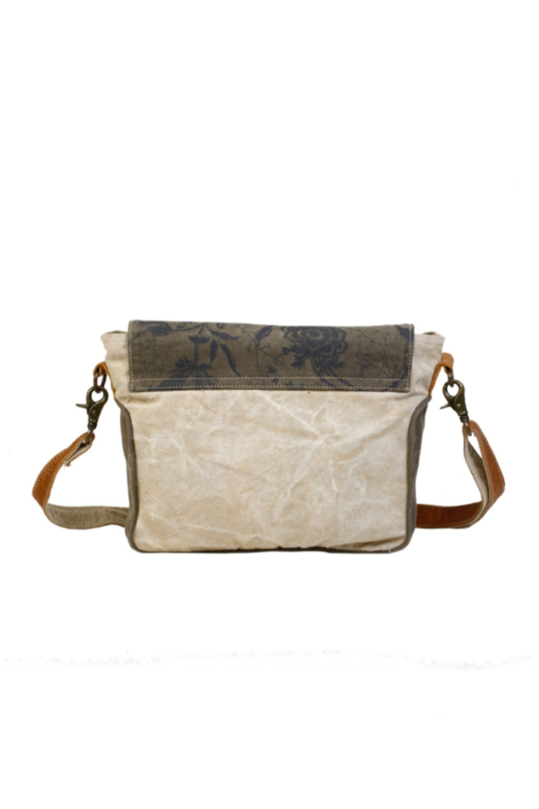 Myra Bags Flap Over Messenger Bag - Front Full Image